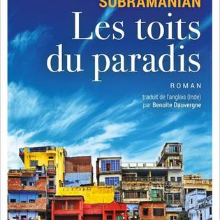 """""""Les toits du paradis"""" de Mathangi Subramanian"""