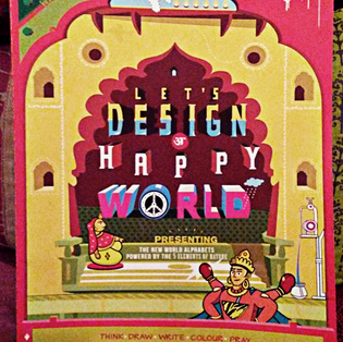 """Let's design a Happy World"" de Aakash Verma"
