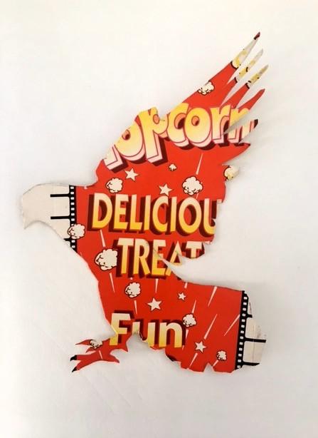 Popcorn pigeon
