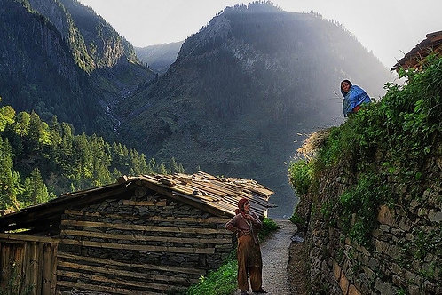 Bara bangal via thamsar pass trekking