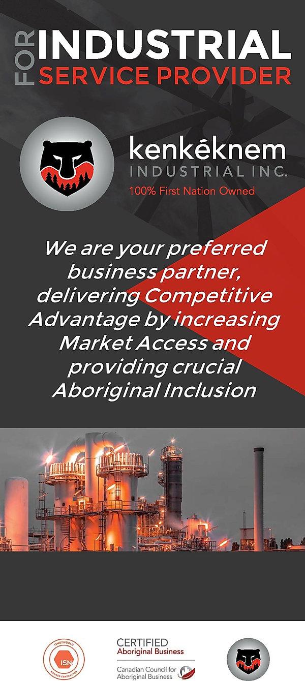 Kenkeknem Rack card - Industrial - no ad