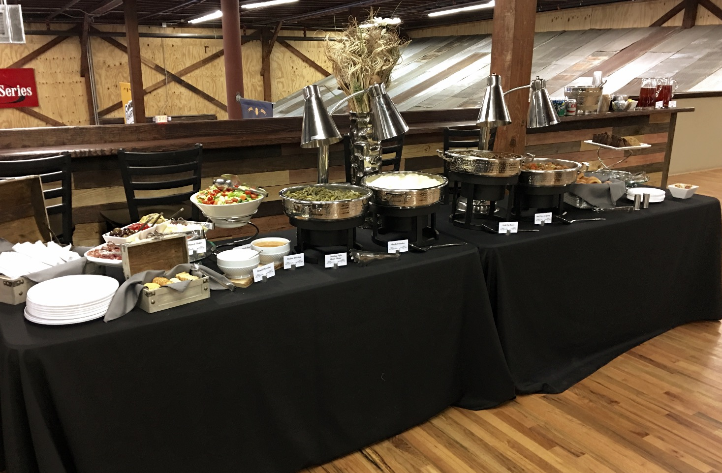 Cabarrus Brewing Mezzanine Buffet
