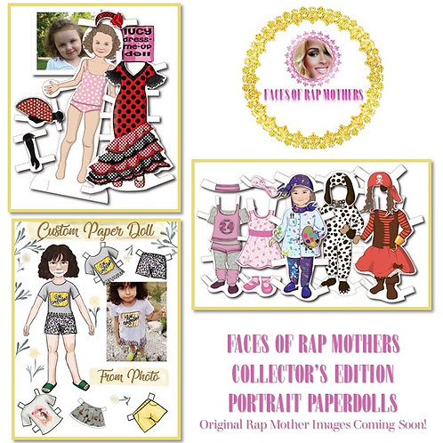 Rap Mother Personalized Paperdoll Kits