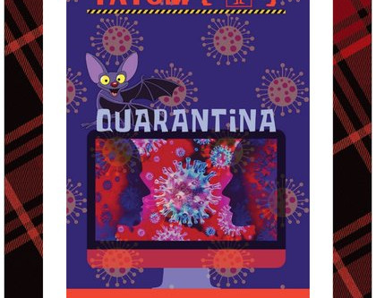 "Release of ""Quarantina,"" by comic - satirist, Wayne Tatum"