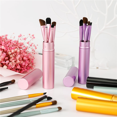 BBL 5pcs Travel Portable Mini Eye Makeup Brushes