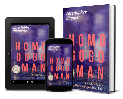 HOMO GOGO Man, by Christopher Duquette of NYC