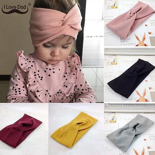 Winter Baby Hat Headband Soft Elastic