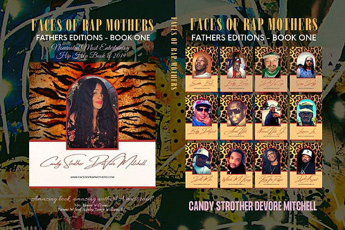 Faces of Rap Mothers™© Full Wrap Cover Art BK.1 - FATHERS