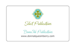 Select Publisher Calling Card