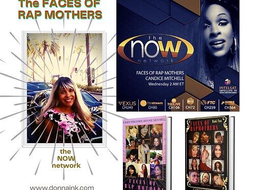 Faces of Rap Mothers BK #1 & BK #2 Color Combo