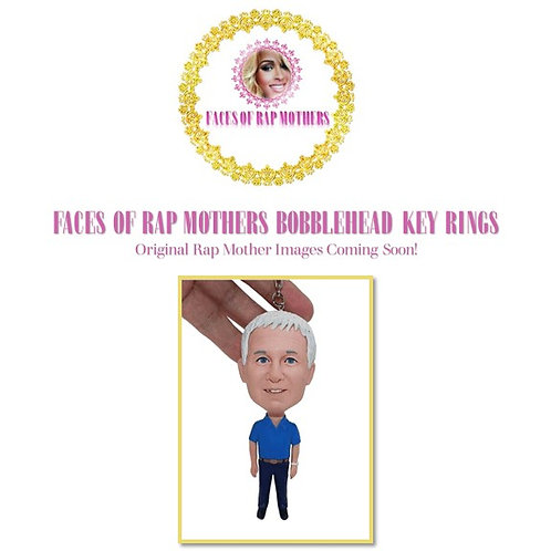 Rap Mothers Key Ring Bobblehead Figure