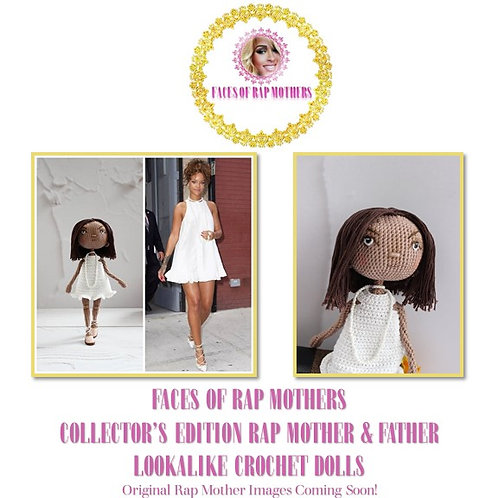 Faces of Rap Mothers Personalized Doll