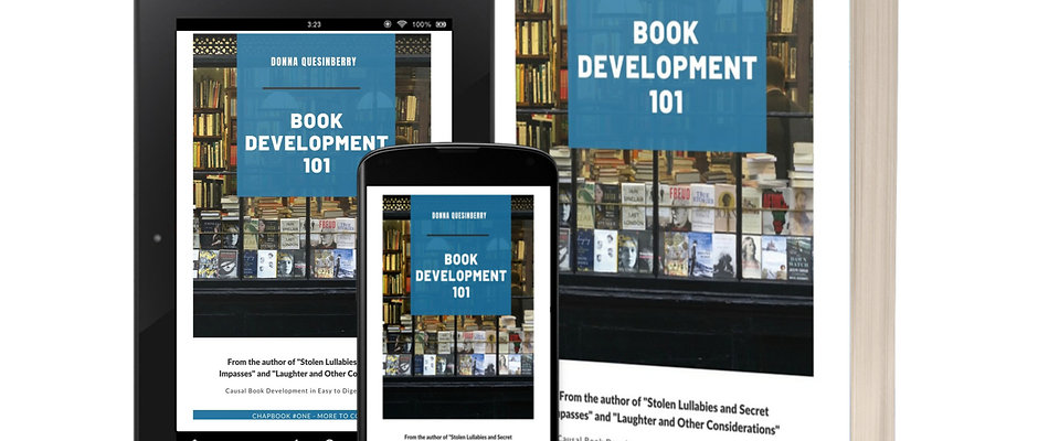 Book Development 101, by Ms. Donna L. Quesinberry