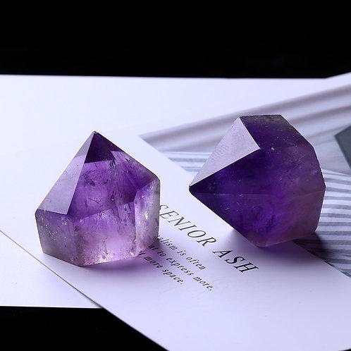 1PC Natural Amethyst Wand Quartz Crystal
