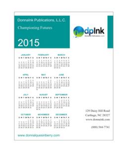 dpInk Calendar - 2016 on the way!