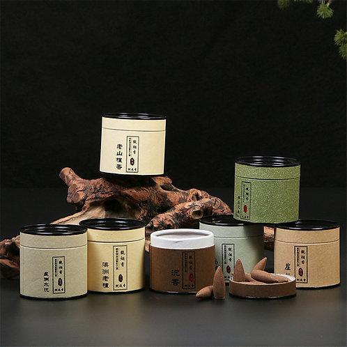 100% Natural Sandalwood Backflow Incense Cones