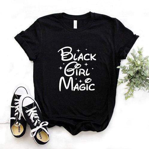 Black Girl Magic Print Women Tshirt
