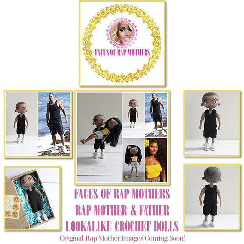 Collector's Edition Rap Mothers Crochet Dolls
