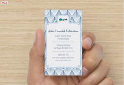 Back of dpInk Business Card