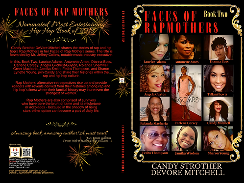 Faces of Rap Mothers™© Official Book Cover Two