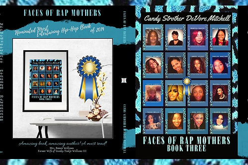 Faces of Rap Mothers™© Full Wrap Cover Art