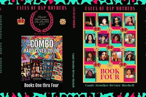 Faces of Rap Mothers™© Full Wrap Cover Art BK. 4