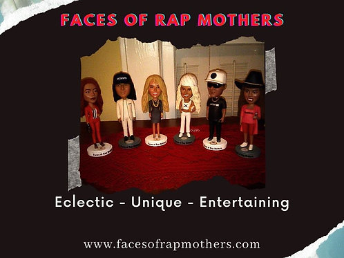 Faces of Rap Mothers Bobblehead Dolls