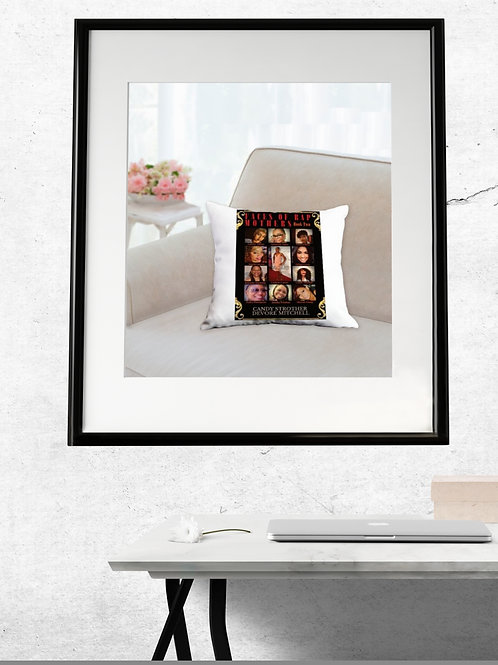 Faces ofRap Mothers - Book Two, Throw Pillows
