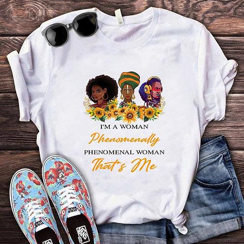 Black Lives Matter Phenomenal Women T-Shirt