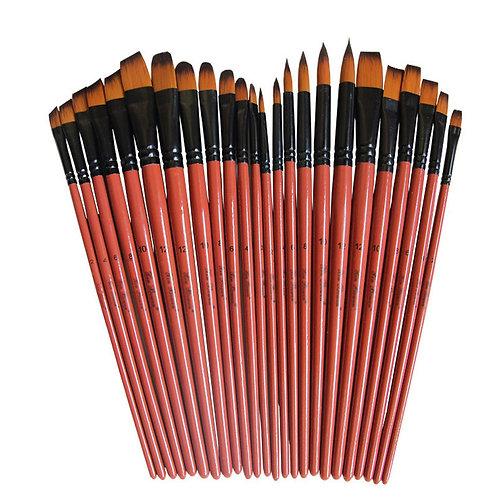 Painting Craft Art Model Paint Nylon Hair Artist Paint Brushes