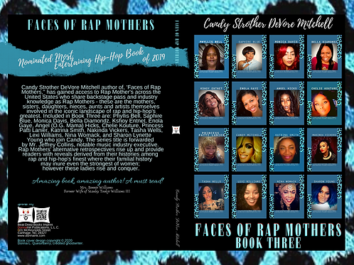Faces of Rap Mothers™© Book Cover Three