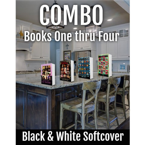 COMBO B/W Faces of Rap Mothers Books One - Four