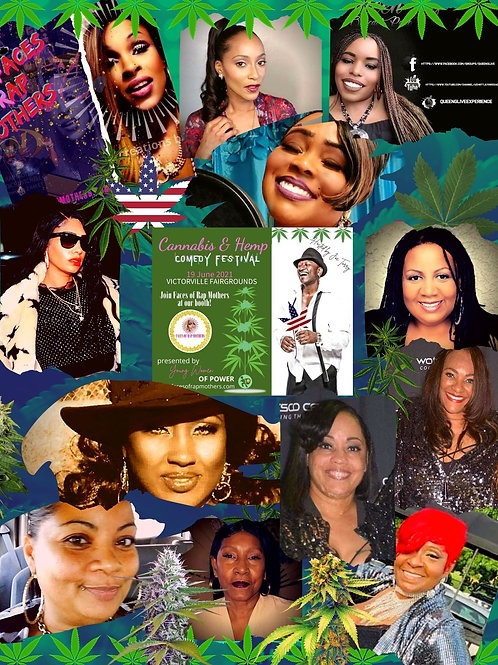 Faces of Rap Mothers™© Event Flyer D