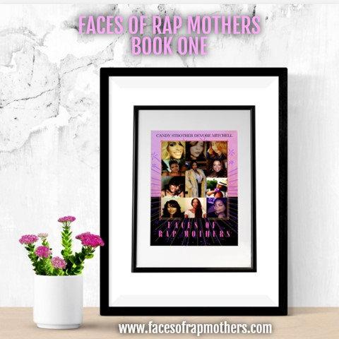 Faces of Rap Mothers BK. #1 - Hrdcvr. Color
