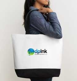 dpInk Carry Bag in White