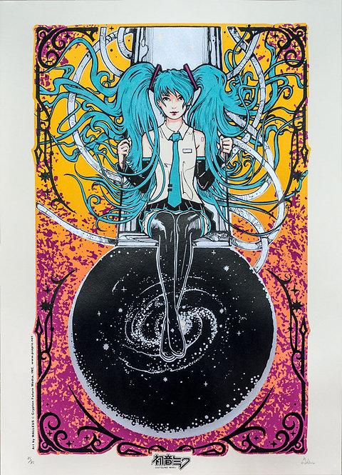 Hatsune Miku art by MALLEUS - Yellow Variant Edition
