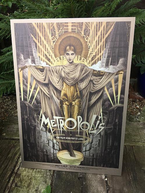 Metropolis Art by Tom Roberts