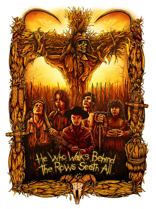 Children of the Corn - Art by Richard Wells
