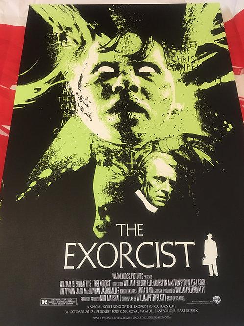 Exorcist Art by JRD