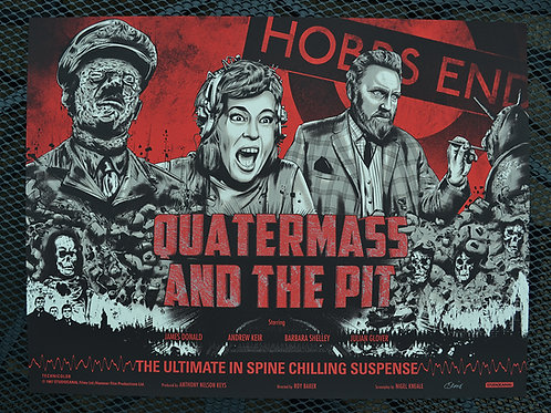 Quatermass and the Pit - Art by Chis Skinner