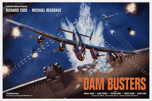 The Dam Busters - Art by Chris Skinner