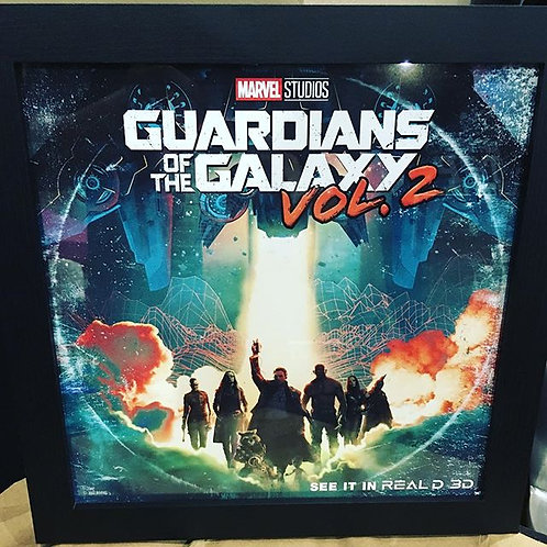 Guardians of the Galaxy Vol 2 Mini Cineworld Poster