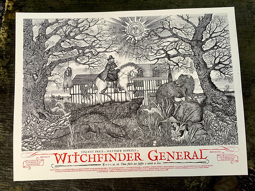 WITCHFINDER REGULAR Art By Sin Eater