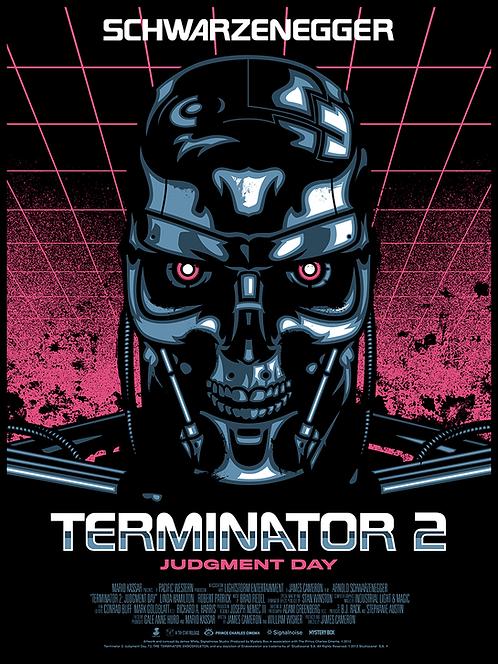 Terminator 2 Judgement Day - Art by Signalnoise