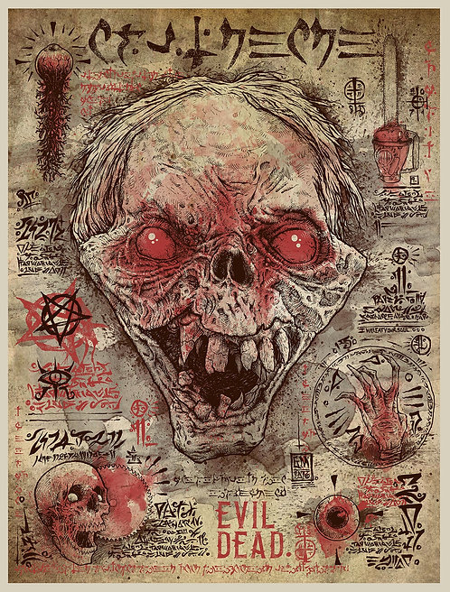 Dead by Dawn - Art by GODMACHINE