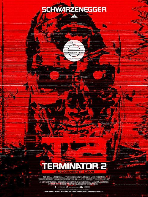 Terminator 2 Judgement Day - Art by Tom Muller