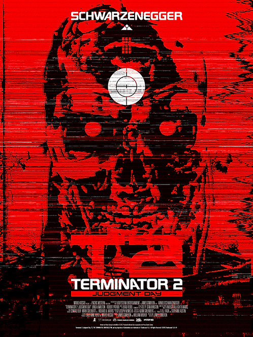 Terminator 2 Judgement Day - Art by Tom Muller