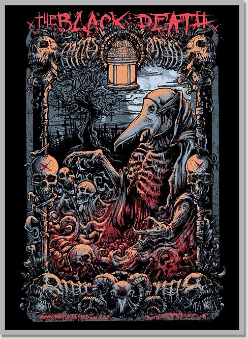 The Black Death Plague Doctor - Art by GODMACHINE