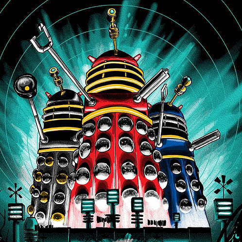 Dr Who and the Daleks - Art by Tim Doyle