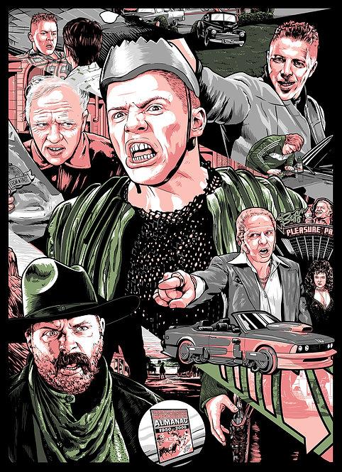 Biff Tannen - Art by MonkeyMouth Art